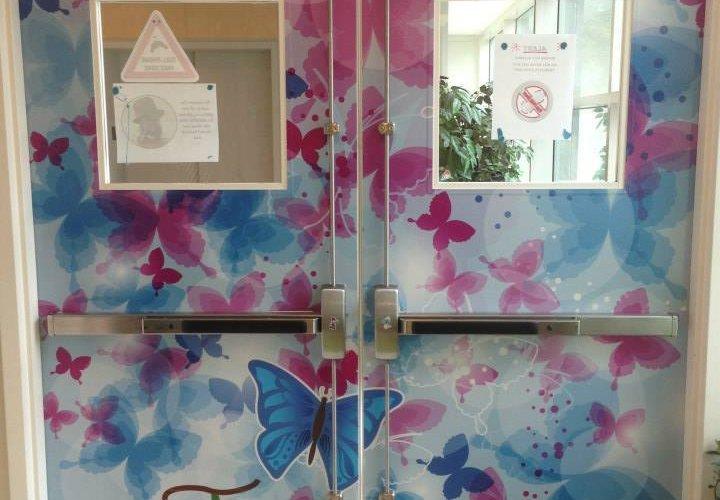 butterflydoorwrap